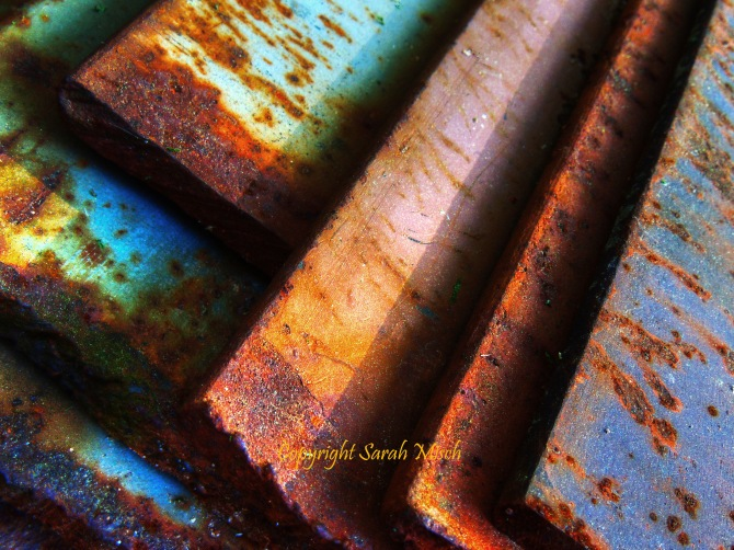 Rusted Geometry marked